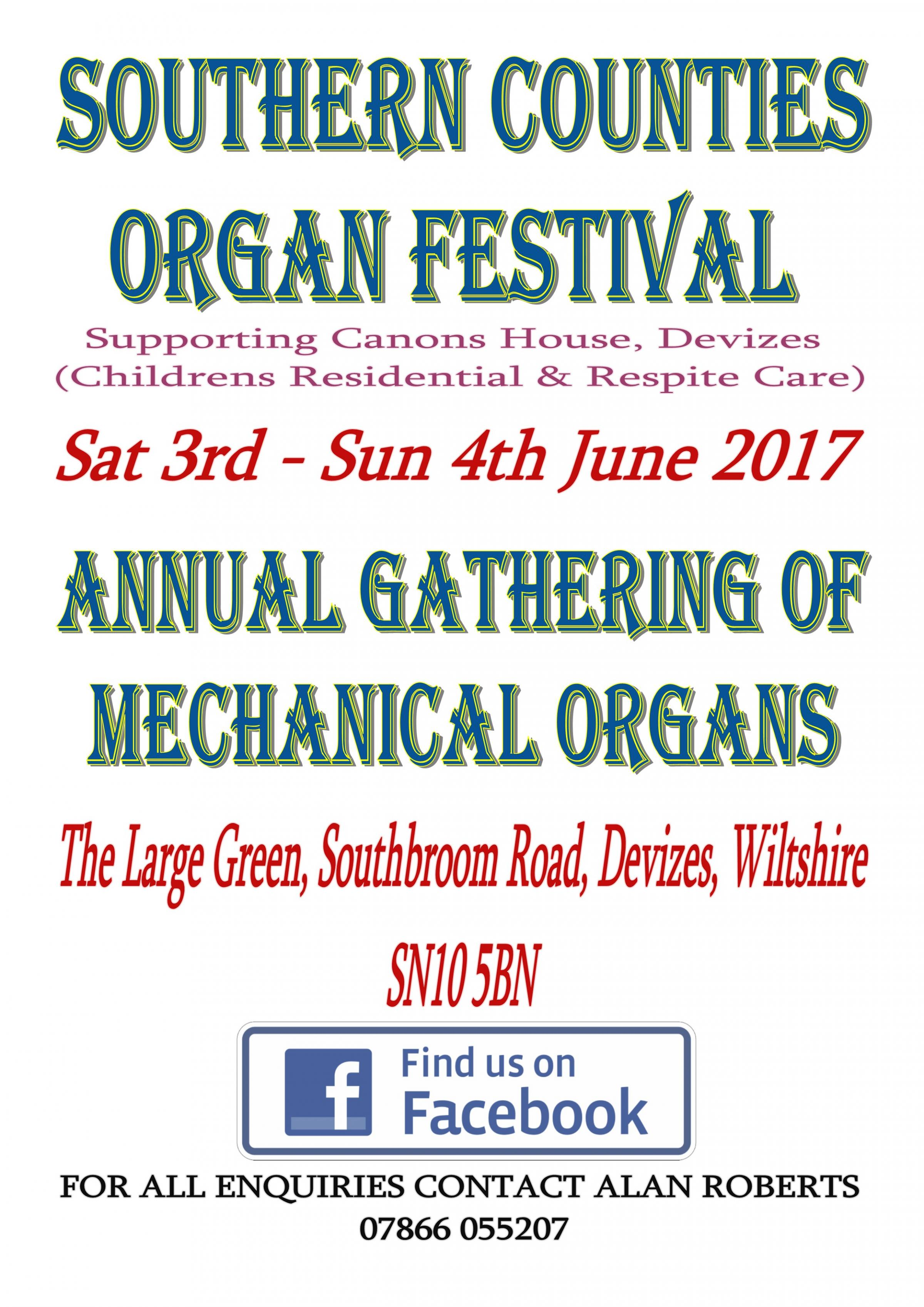 Southern Counties Organ Festival