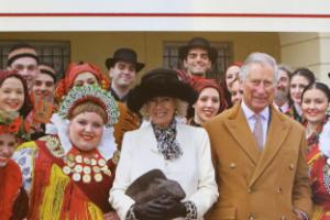 Charles and Camilla's Christmas card features Croatian dancers