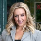 Wiltshire Times: Corrie's Catherine Tyldesley relishes soap 'scrap' with Kym Marsh