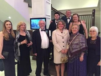 The ten members of the MMAD group at the awards ceremony in Bristol