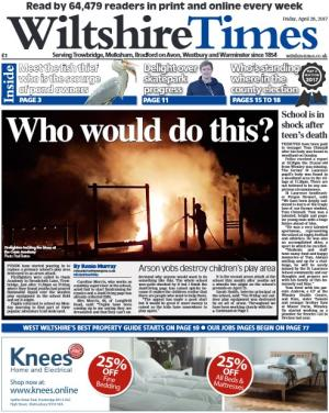 Wiltshire Times: Don't miss this week's Wiltshire Times