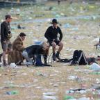 Wiltshire Times: Glastonbury clean-up gets under way