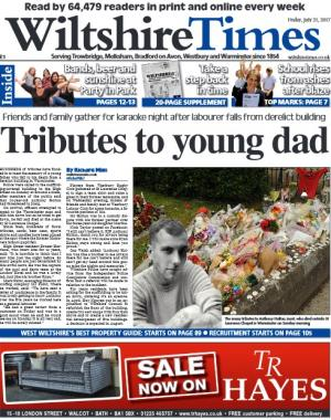 Wiltshire Times: Don't miss this week's packed Wiltshire Times