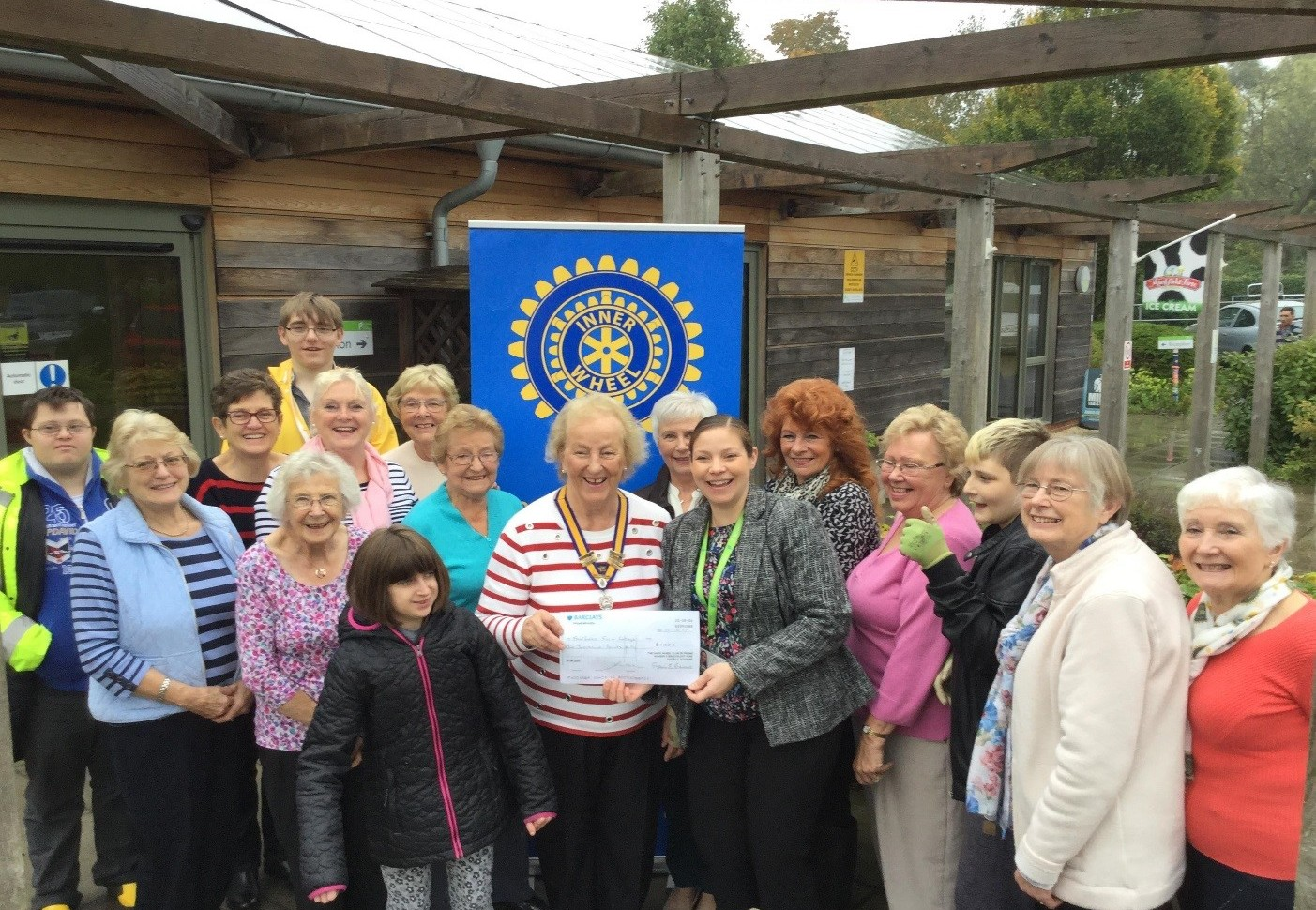 Frome Inner Wheel with Fairfield Farm College