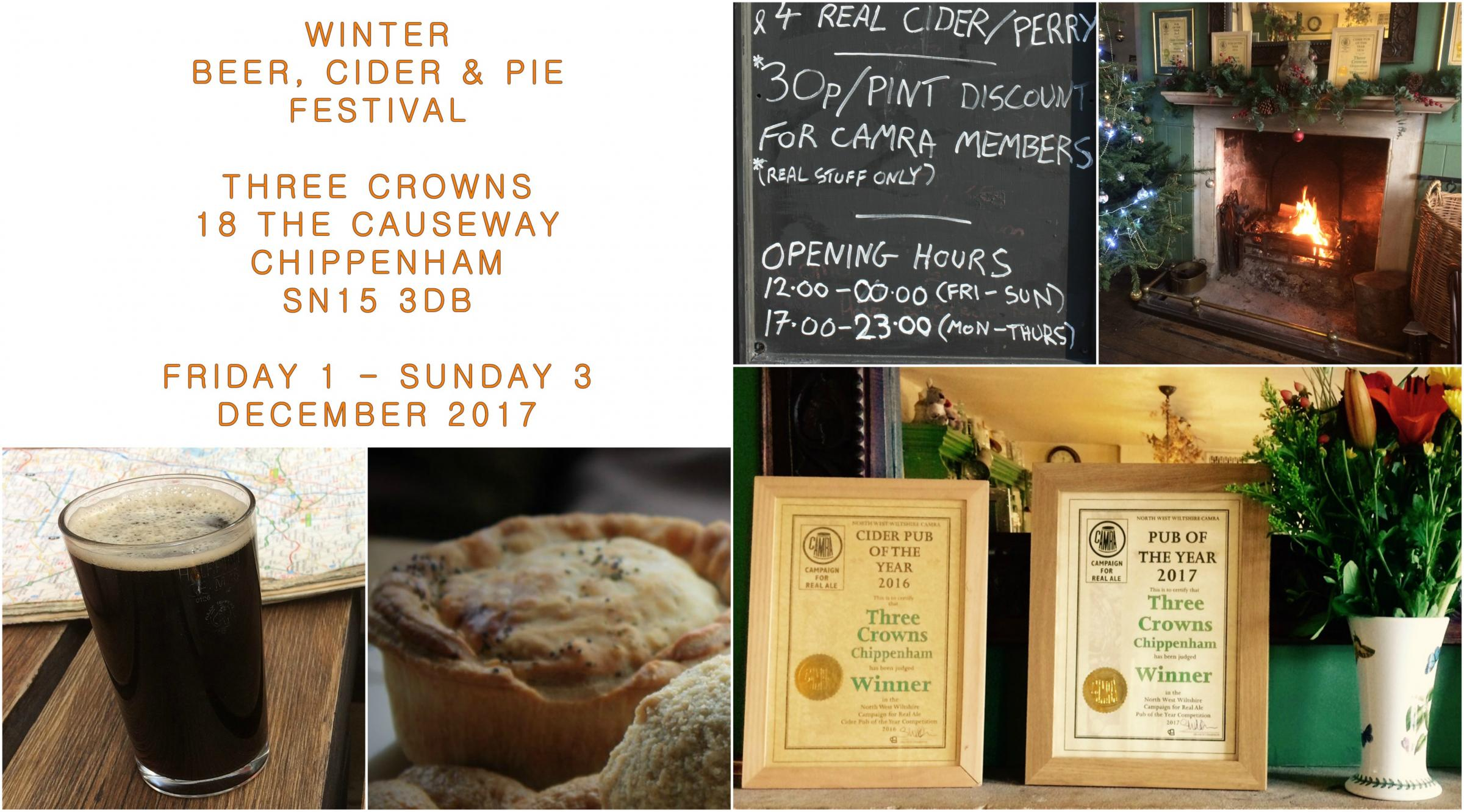 Winter Beer, Cider & Pie Festival