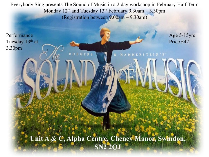 The Sound of Music - February Half Term Workshop