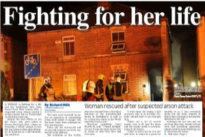 Trowbridge woman fighting for her life afrer suspected arson attack Read more here...