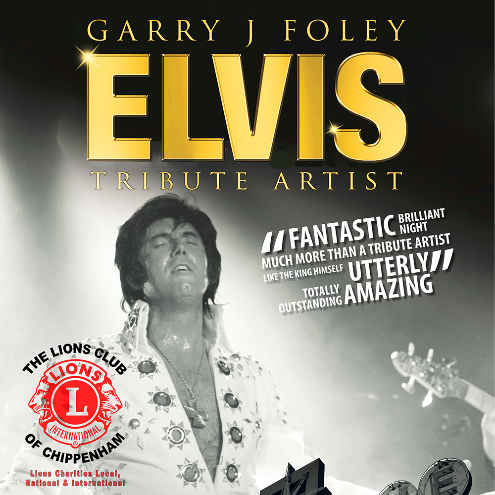 Elvis Tribute with Garry J Foley
