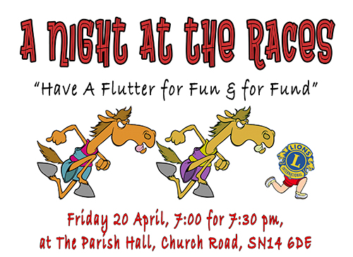 A Night At The Races - Have a Flutter for Fun and for Fund