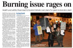 Protesters fear waste incinerator for Westbury would endanger health. Read more here...