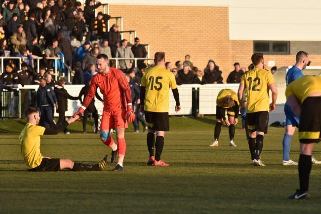Melksham Town Chairman Darren Perrin Salutes Clubs Fa Vase Run