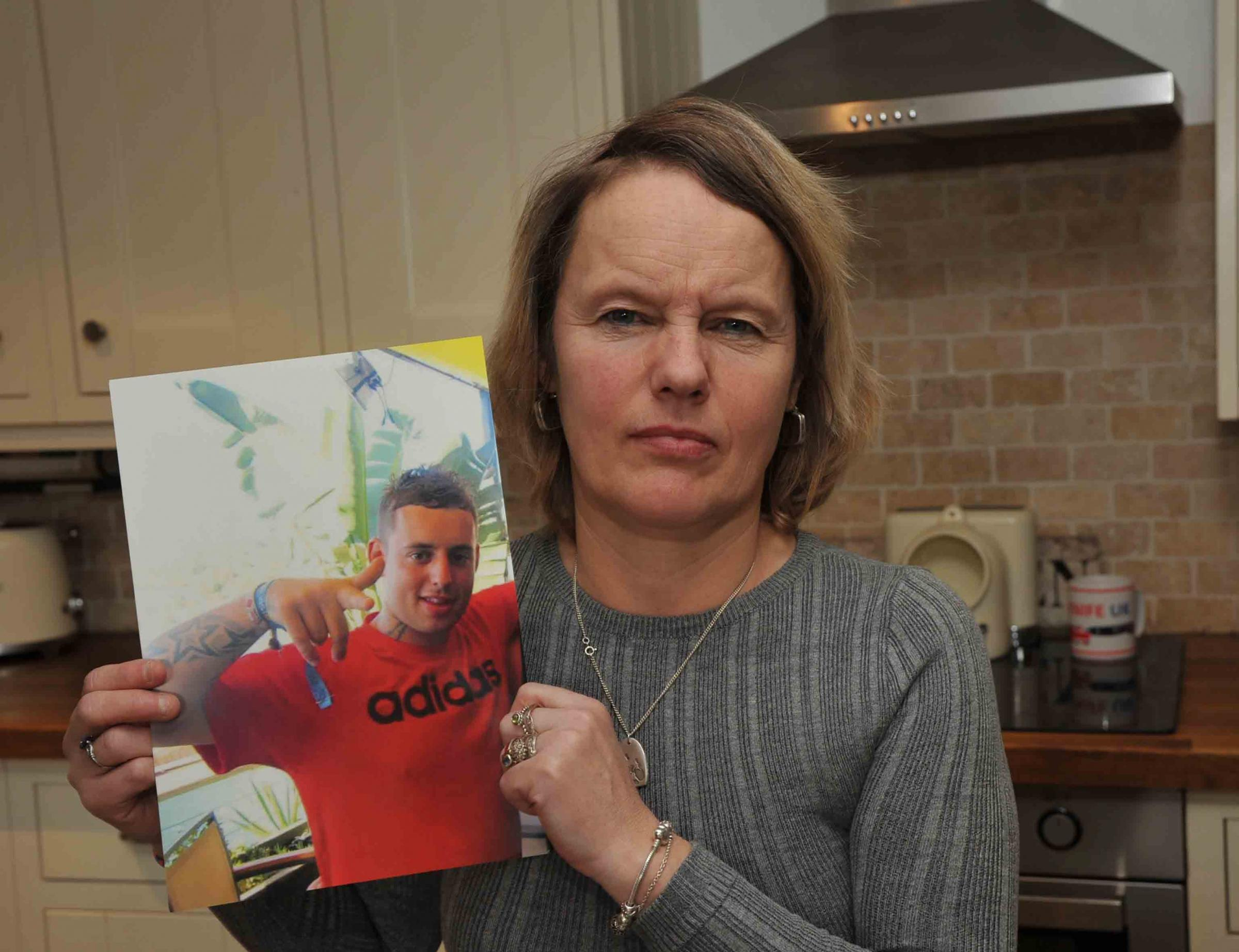 Jordan Taylor's mother Emma wants a fresh inquiry into his death Photo: Trevor Porter   59380 1..