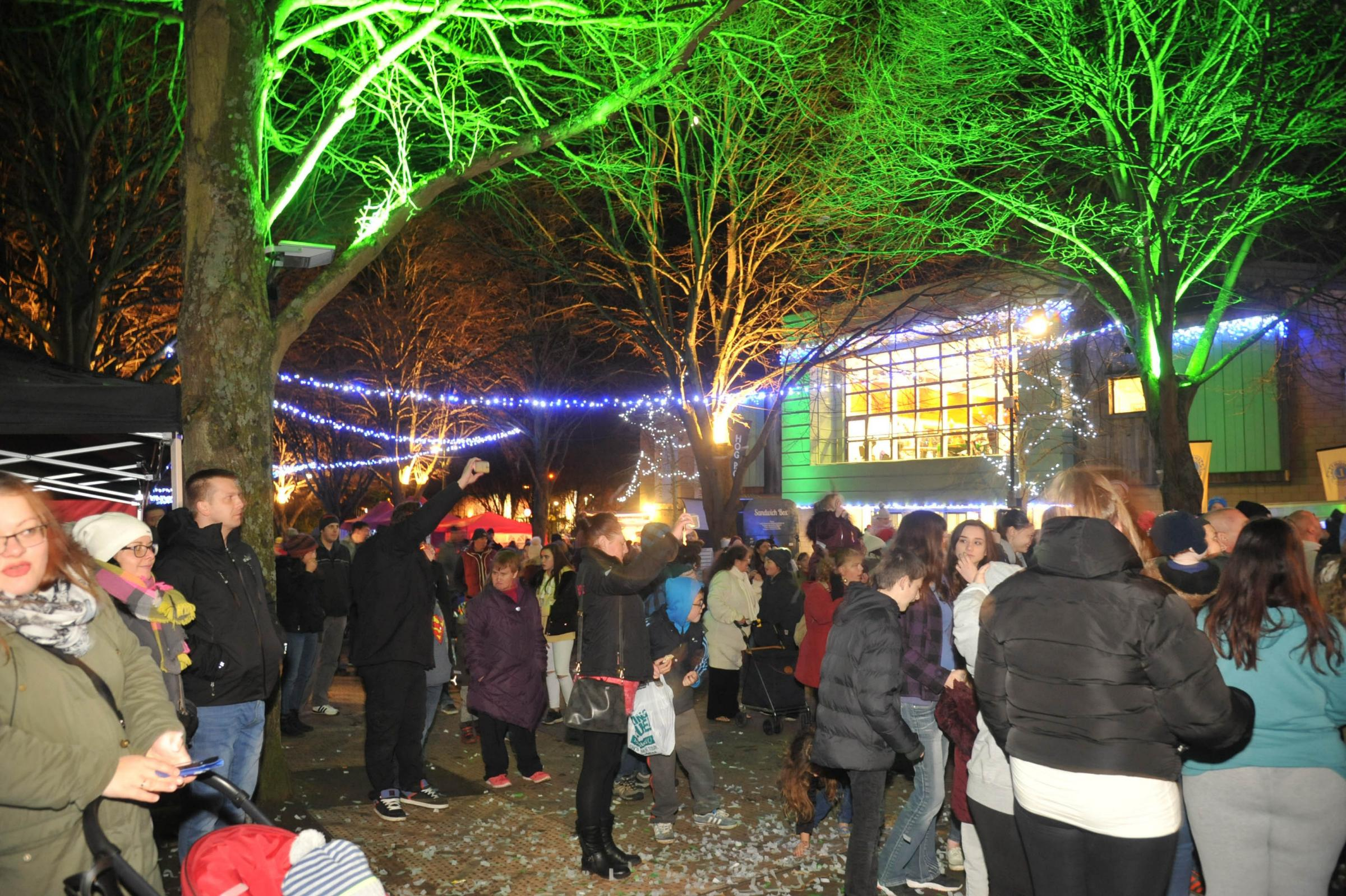 Trowbridge Christmas Lights Switch On.Trowbridge Christmas Lights at the Towns Civic Centre. Photo: Trevor Porter 59249 9..