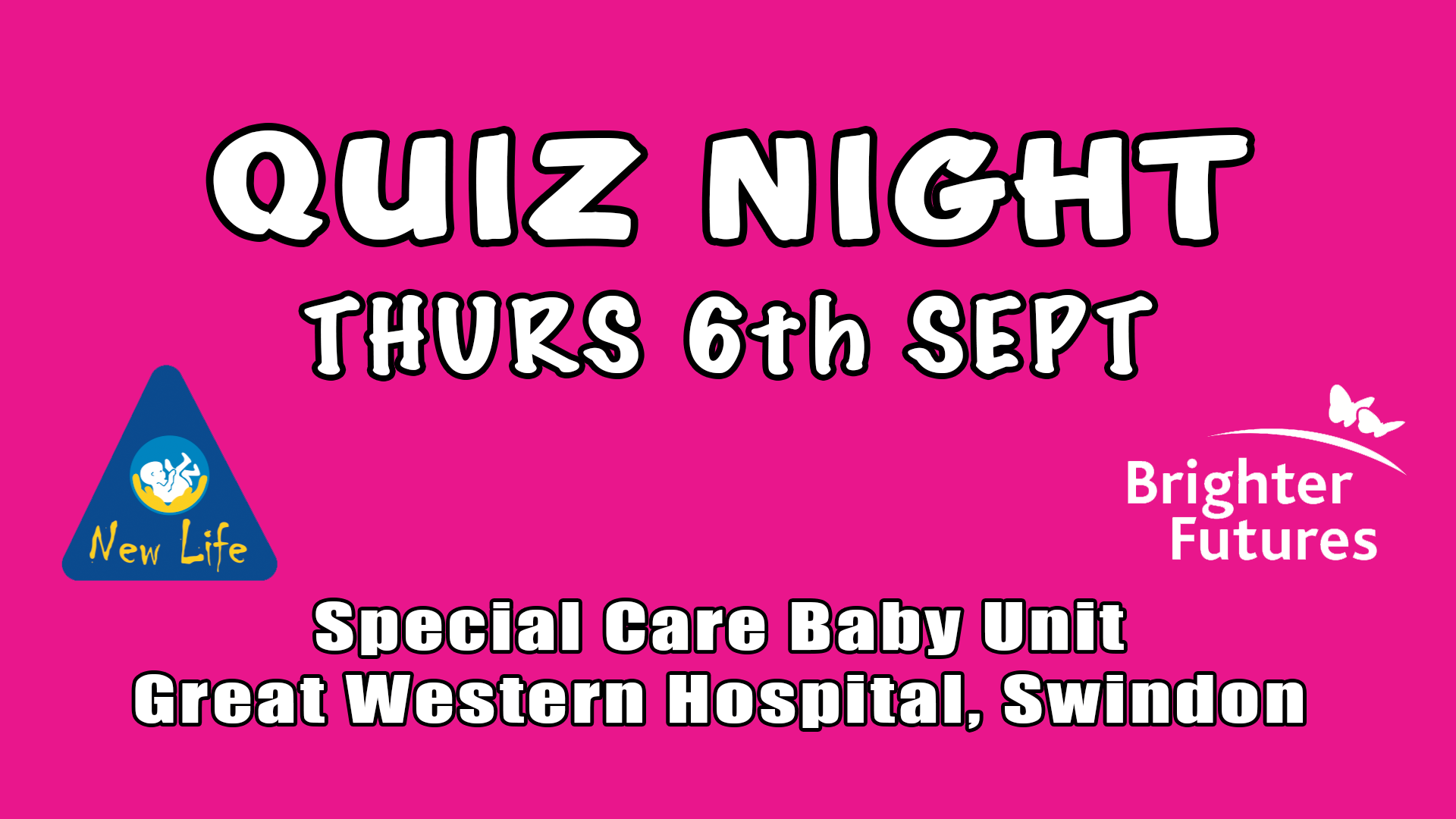 Charity Quiz Night - Special Care Baby Unit, GWH
