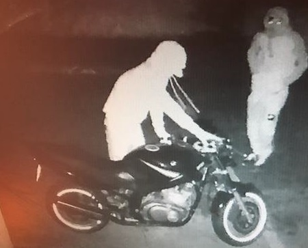 CCTV for motorbike theft