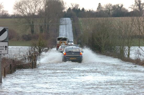 Motorists are being urged to drive safely and sensibly as Wiltshire prepares for more rainfall over the coming days