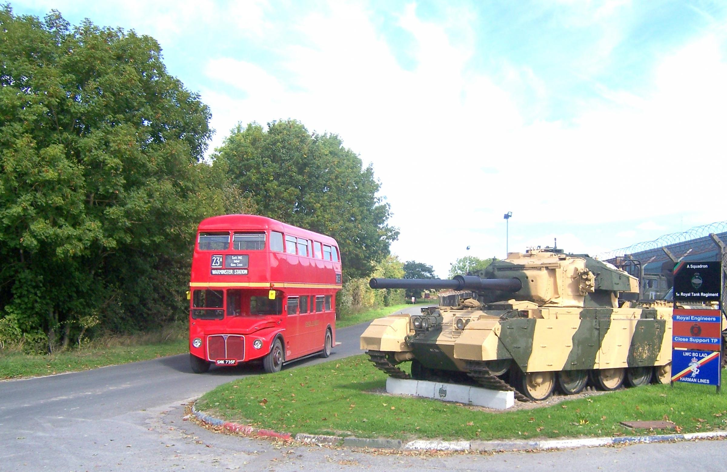 IMBERBUS - providing a classic bus service to the lost village of Imber