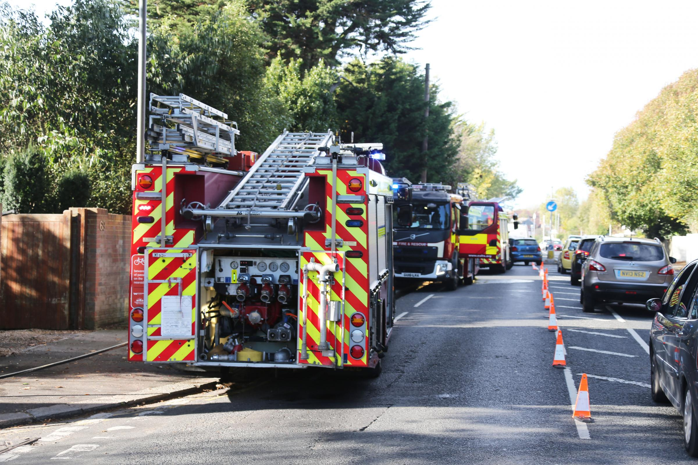Shed fire extingusihed in Warminster