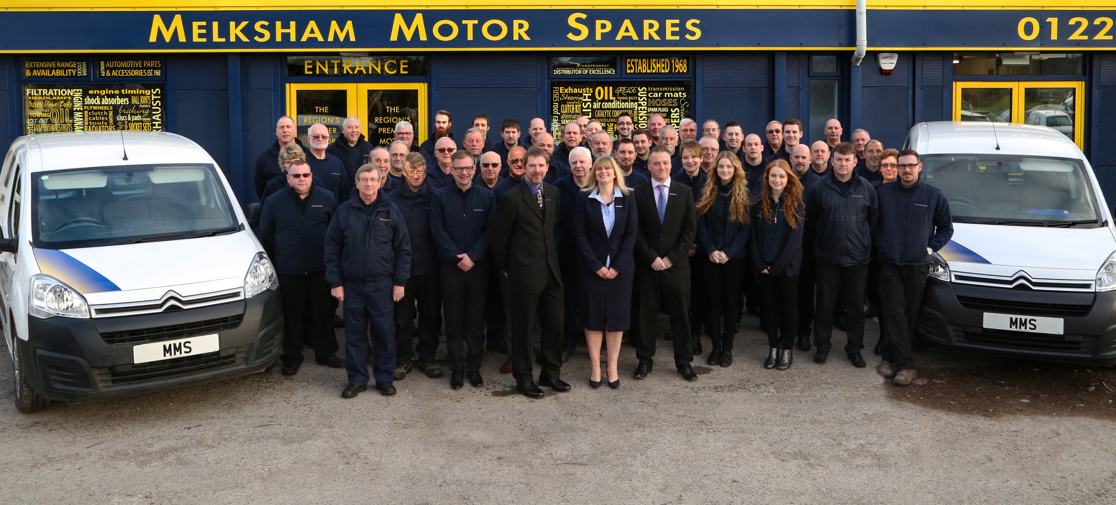 Staff at Melksham Motor Spares need your votes to win industry award