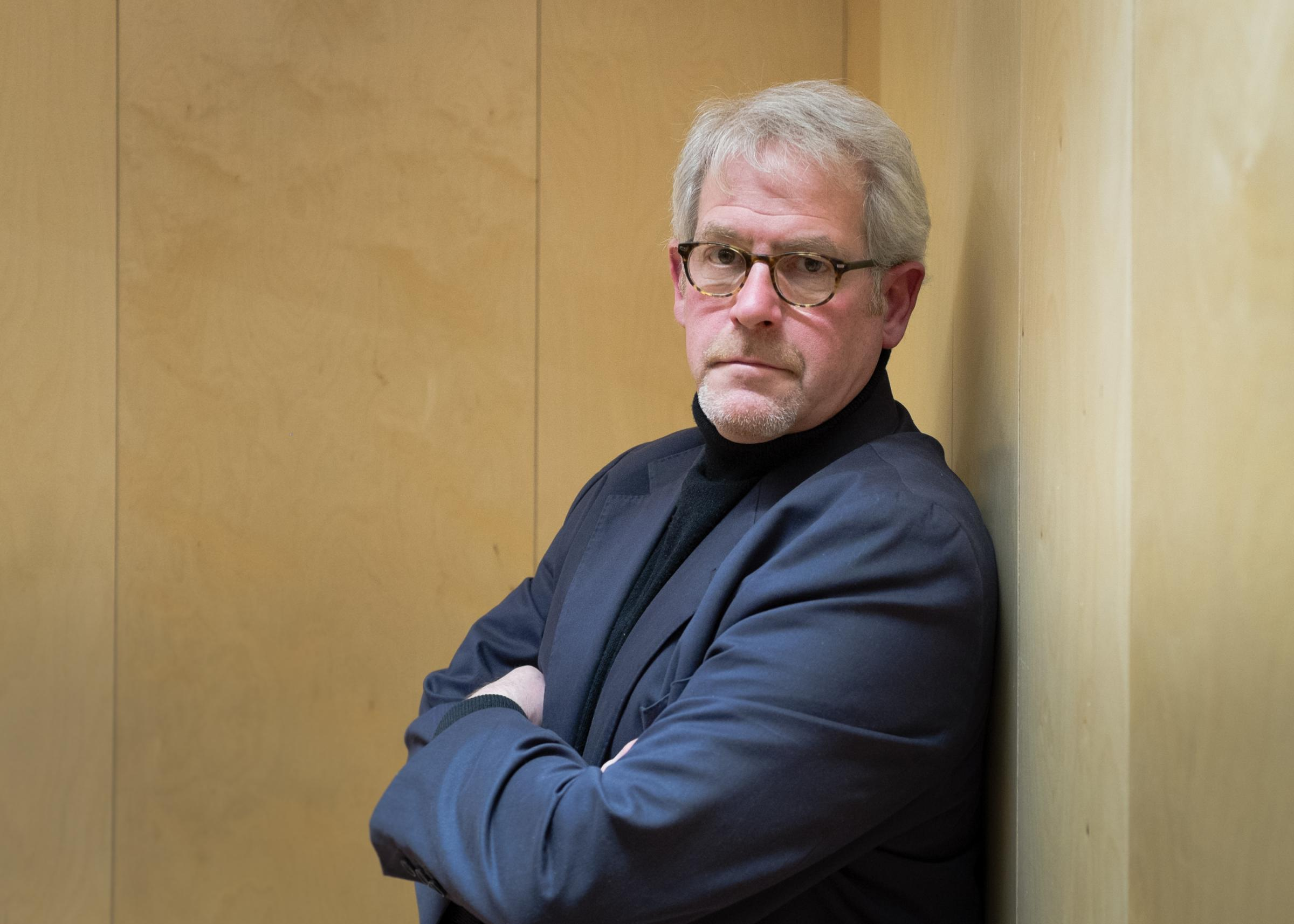 Trowbridge author Tim Tate, whose book with Brad Johnson about the assassination of Robert F Kennedy has been nominated for a top award. Photo: Andy Boag