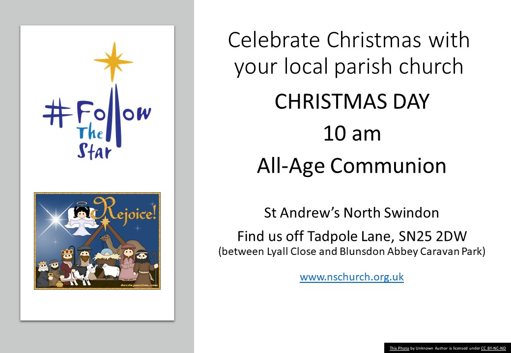 Christmas Day All-Age Communion