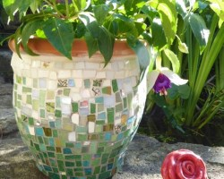Mosaic Planters with Emma Leith
