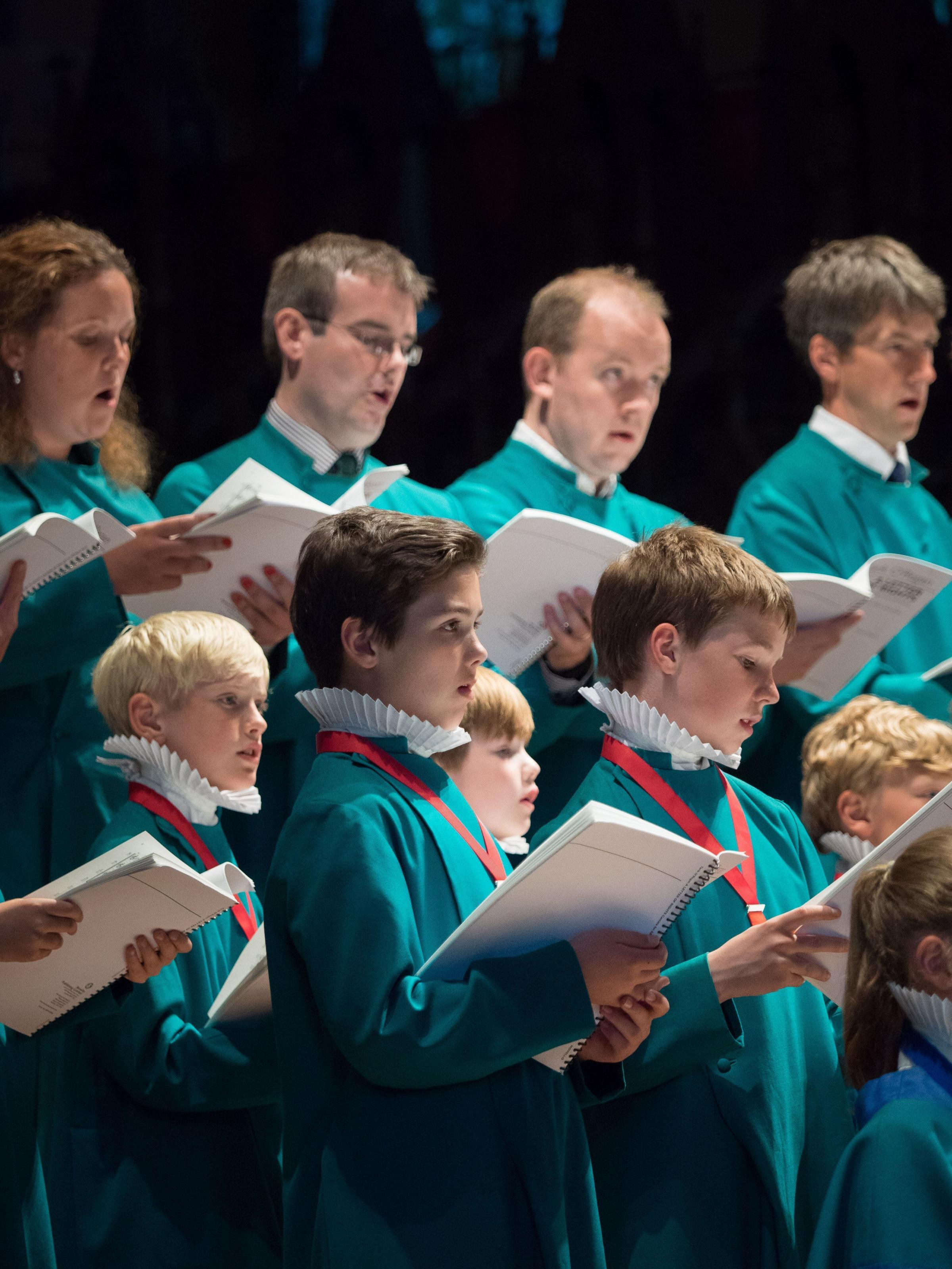 LOVING MEMORY: Salisbury Cathedral Choir Picture: Ash Mills.