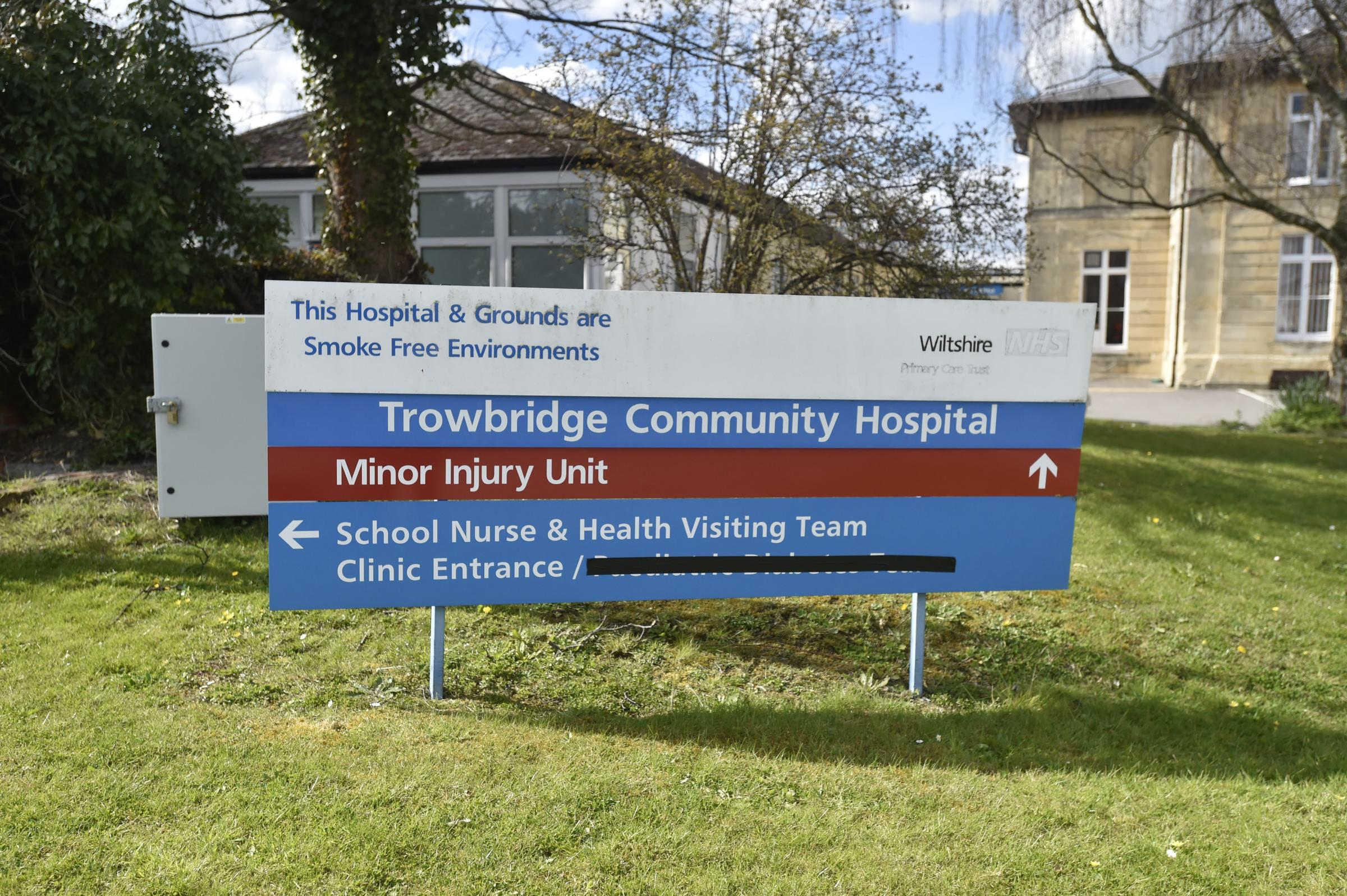 Trowbridge Hospital. Pics by Diane Vose DV3038/09.