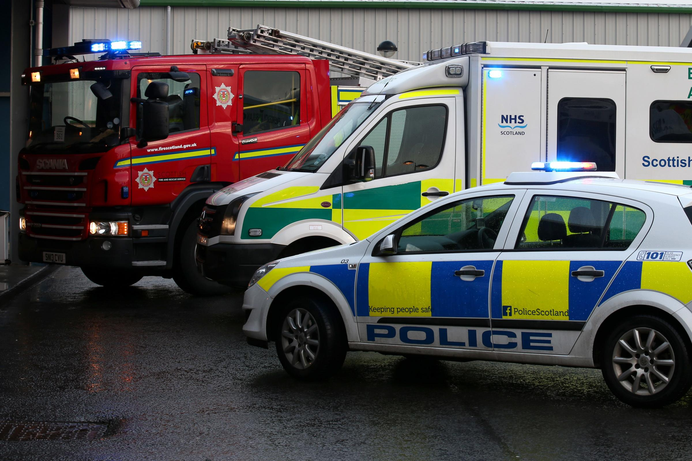 Emergency service vehicles