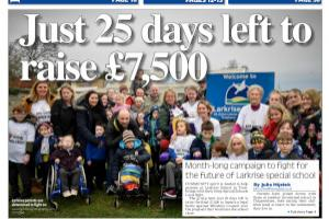 Parents of children at Larkrise School in Trowbridge  have 25 days to raise cash to fight against the school's closure. Read more stories like this here...