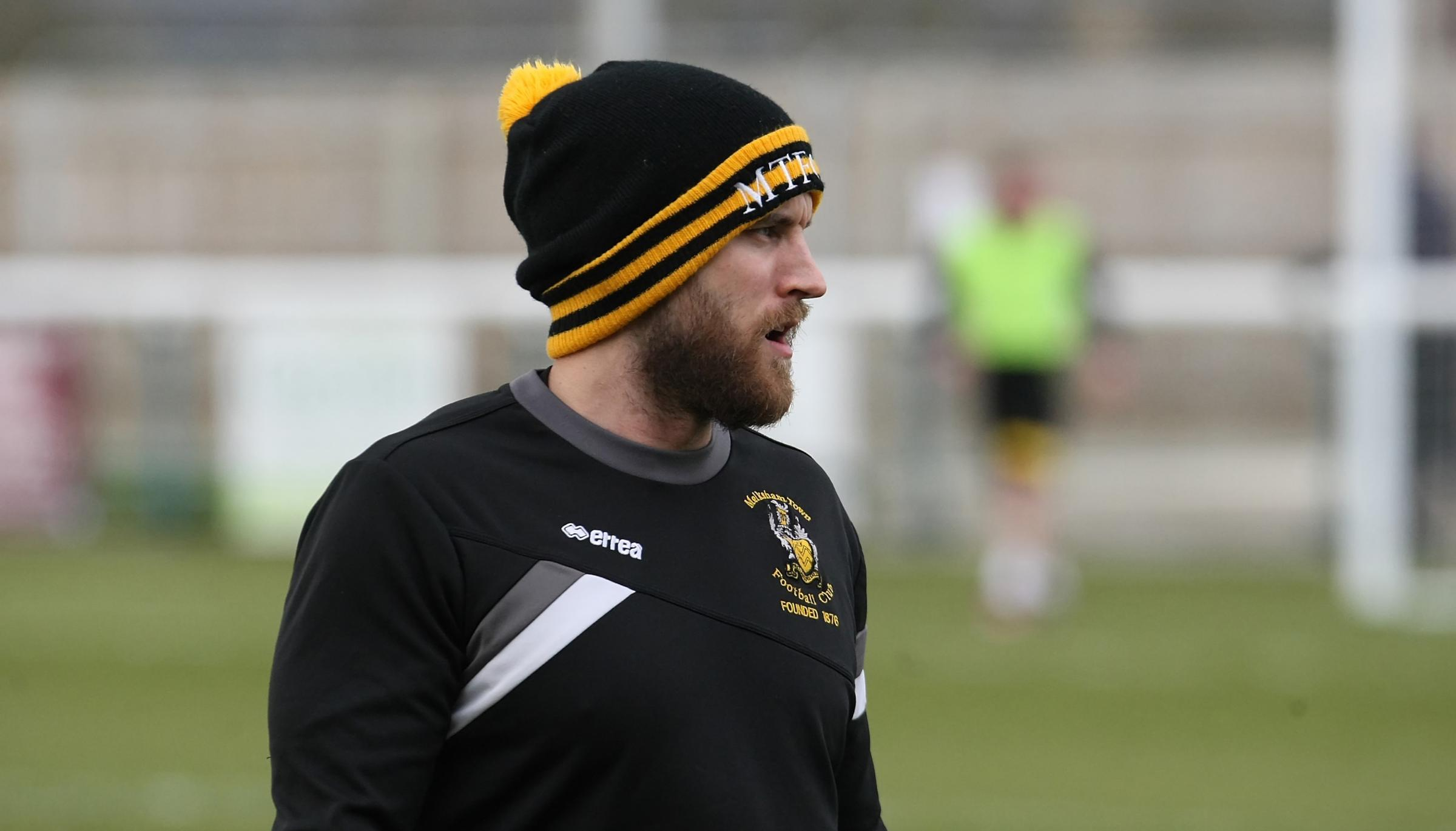 Melksham Town v Thatcham Town; Saturday, March 2, 2019; PICTURE: ROBIN FOSTER - Kieran Baggs