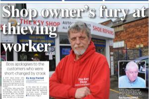 Trowbridge shop owner says sorry to his customers for not noticing thefts sooner Read more stories like this here...