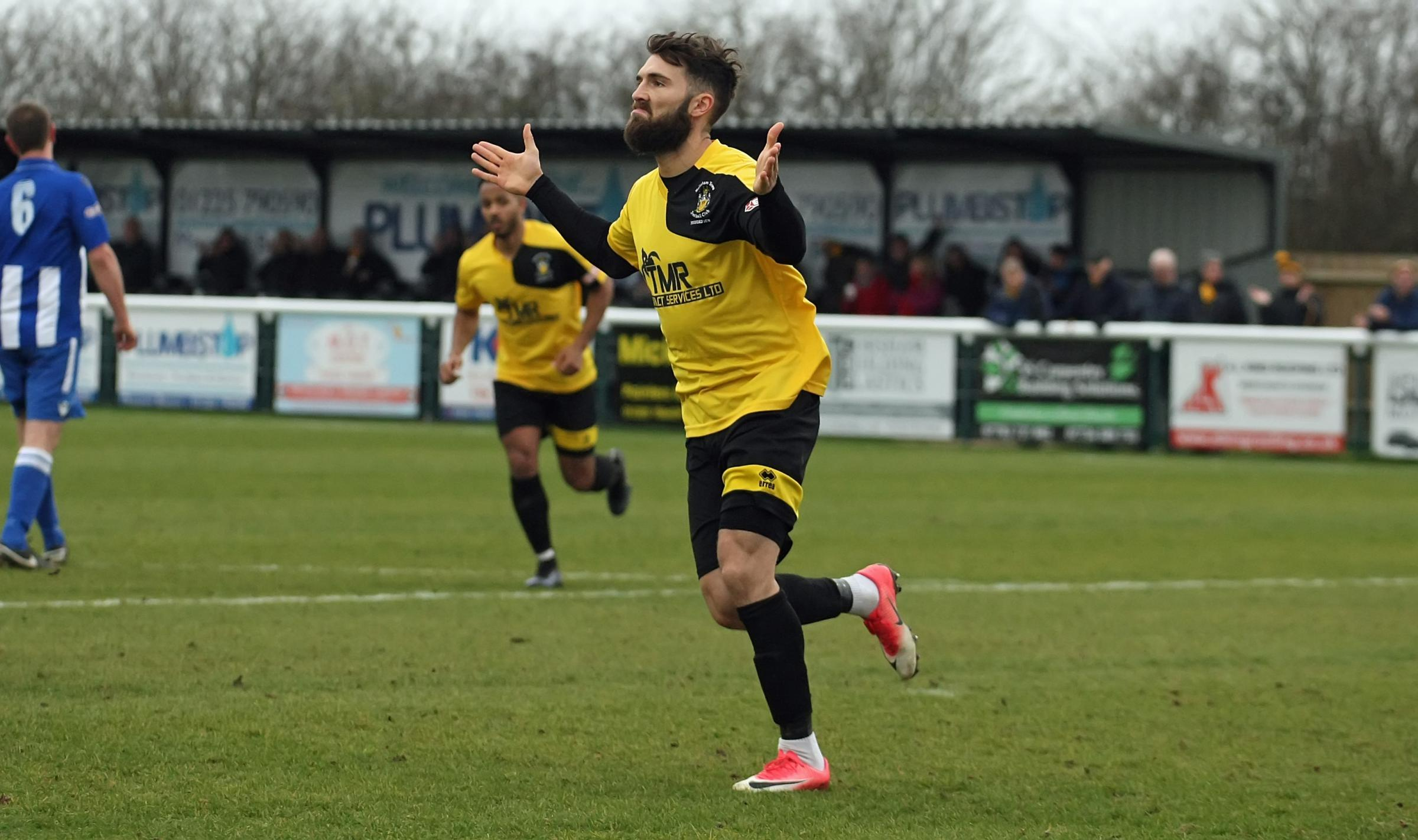 Melksham Town v Thatcham Town; Saturday, March 2, 2019; PICTURE: ROBIN FOSTER - Jon Davies