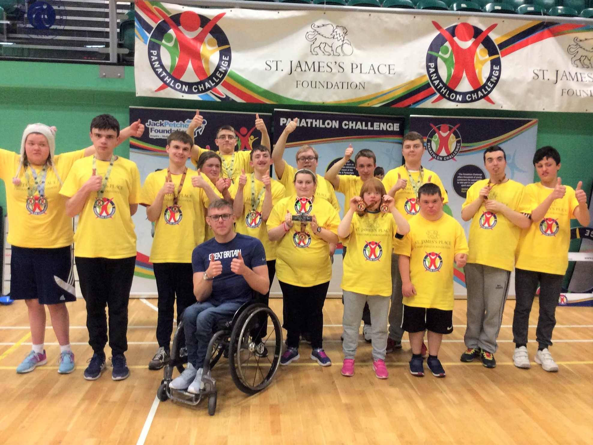 Pupils at Fairfield Farm College in Dilton March won silver at the South England Panathlon Championship final.
