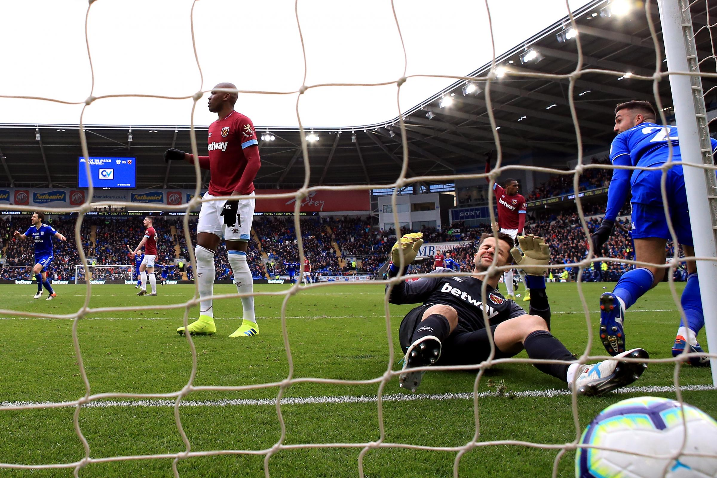 Cardiff City v West Ham United – Premier League – Cardiff City Stadium