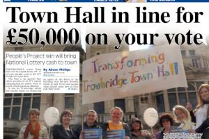 Trowbridge town hall may win cash from ITV People's Project 2019 Read more stories like this here...