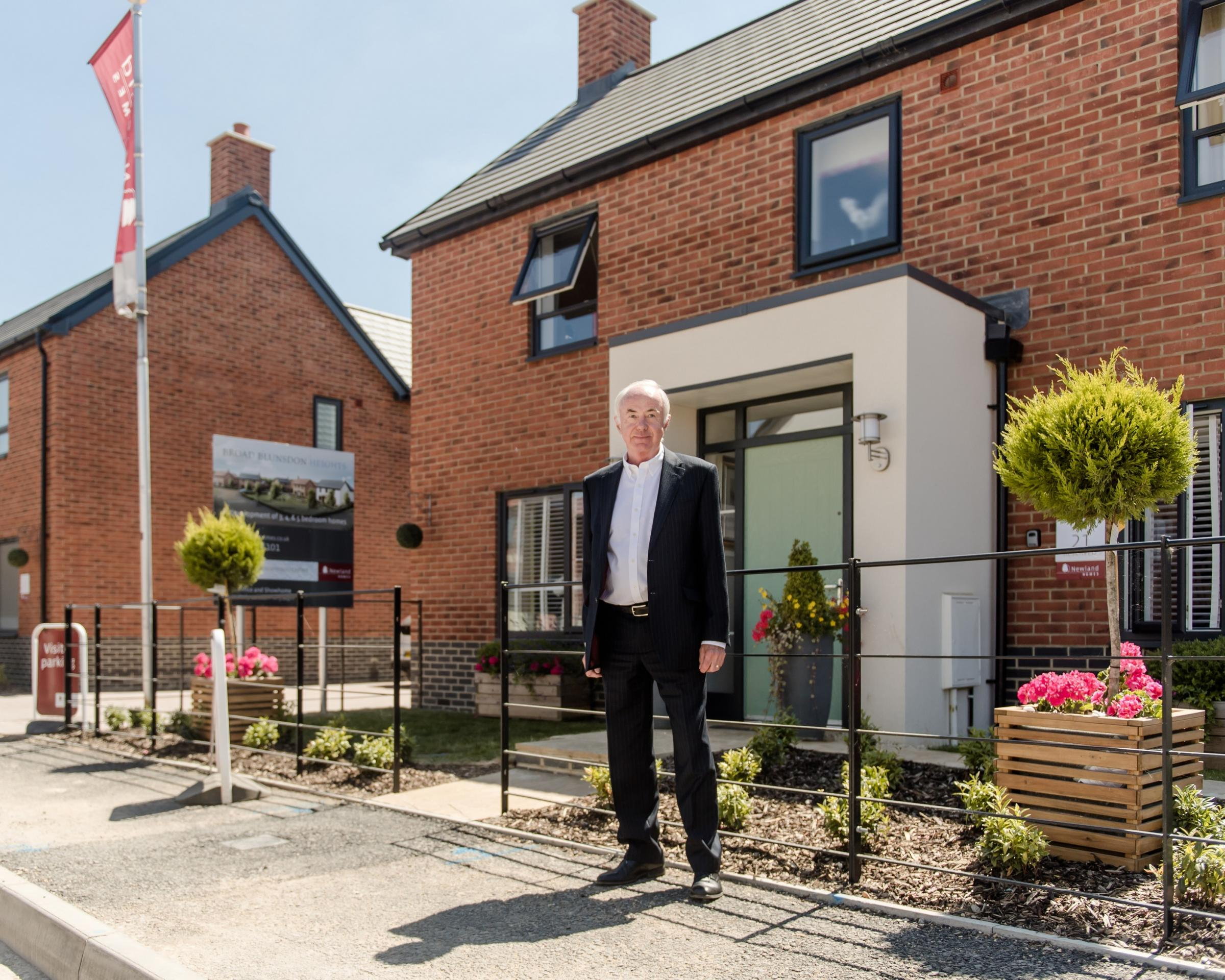 Local housebuilder recognised as one of Britain's 100 fastest growing companies