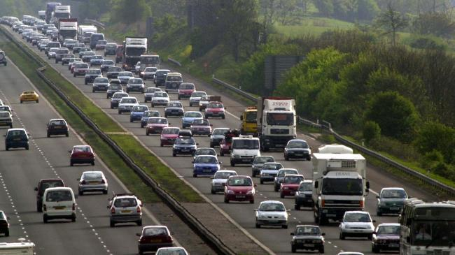 Wiltshire Easter Monday traffic alert: congestion on the M4