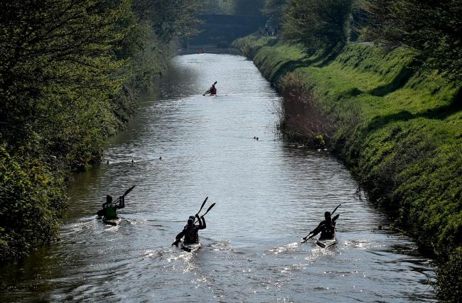 A canoeist has died in the Devizes to Westminster marathon
