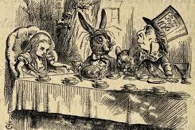 Mad Hatter's tea party
