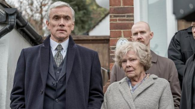 Ben Miles and Judi Dench in Red Joan