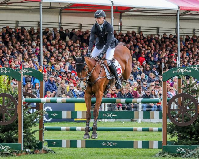 Tim Price and Ringwood Sky Boy at the Badminton Horse Trials earlier this year