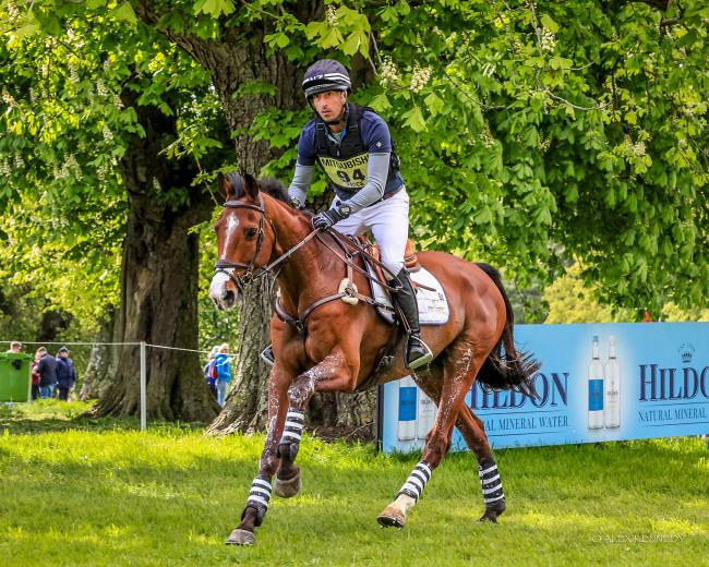 Tim Price, pictured riding Ringwood Sky Boy at this year's Badminton Horse Trials, won the CCI5* title at Luhmuhlen on board Ascona M at the weekend       Picture: ATK PHOTOGRAPHY