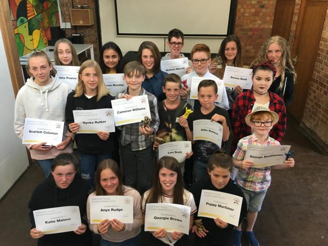 The 2018 Melksham Young People'sAwards winners