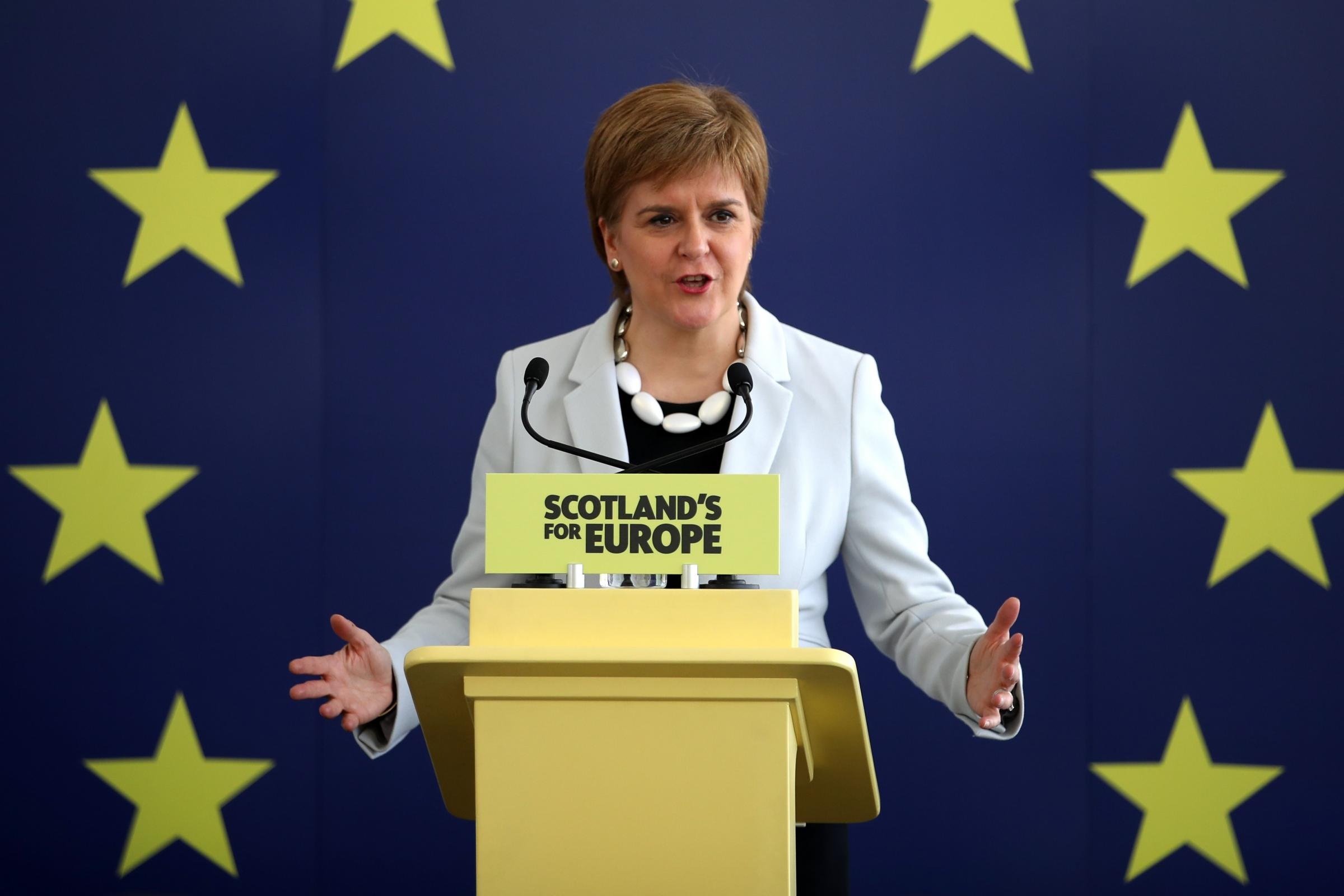 SNP European election campaign