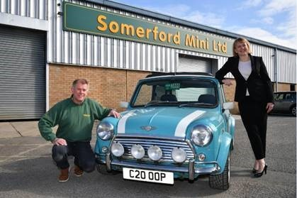 Somerford Mini firm moves on to next big adventure thanks to HSBC backing