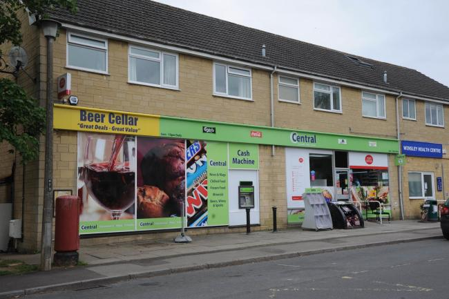 The Central Convenience store in Tyning Road was raided for the third time this year Photo: Trevor Porter 60385