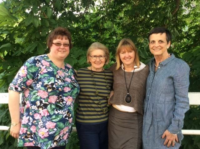 The four candidates for the Bradford on Avon South Ward vacancy - Fee Baker, Pam Hyde, Sarah Gibson and Paige Balas