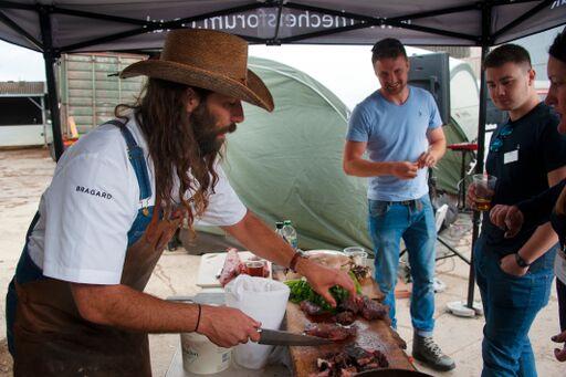 Westbury farm plays host to Chefs' Forum